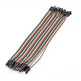 macho a hembra Arduino Placa de pruebas Jersey Cable 21.5cm Largo 40 piezas