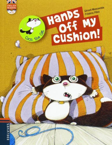 Hands off my cushion! (Coco The Cat) por Gerard Moncomble