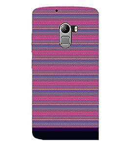 PrintDhaba Tribal pattern D-1831 Back Case Cover for LENOVO VIBE K4 NOTE (Multi-Coloured)