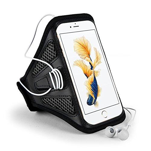 Al aire libre de malla negro Running brazalete deportivo para iPhone 7Plus/Samsung Galaxy S7Edge/J7J5/Motorola Moto G4/Moto Z Play/Wileyfox Spark X/Huawei Nexus 6P