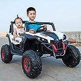 Tritow 4x4 Kids Ride on Car avec télécommande LED lumières Musique 12V Enfant...