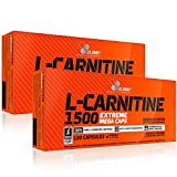 Olimp L-Carnitine 1500 Extreme Mega Caps 2 x 120 Capsules from Olimp