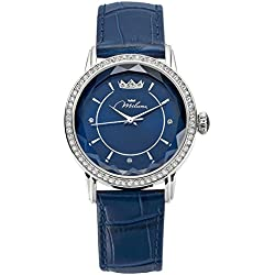 Watch Blue Leather ORL1001_B35 Crystal Woman Moments Xiao Yan