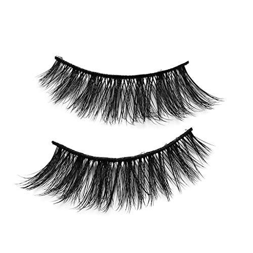 SMILEQ® 3D Wimpern Imitat Nerz Natürliche Dicke Falsche Wimpern 5 Paar (5 Paare, K)
