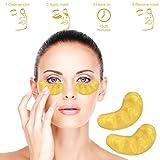 10 x máscara de colágeno, Black Forest Spa máscara facial de la máscara de ácido hialurónico de oro que blanquea la arruga de elevación Máscara Tratamiento Hidratante