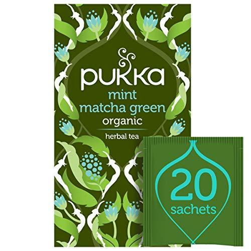 Pukka Mint Matcha Green Tea, 20 sachets