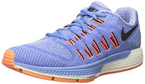Nike Wmns Air Zoom Odyssey, Chaussures de Running Entrainement Femme, Taille Bleu (bleu craie / noir - voile - hyper orange)