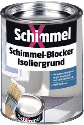 SchimmelX Schimmel Blocker Isoliergrund weiss      0,750 L