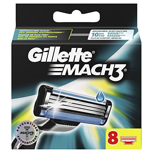 Gillette Mach3 lamette da barba uomo