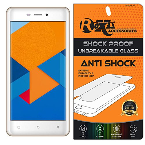 Mobiistar CQ Roxel® Unbreakable Anti Shock Series Tempered Glass With Additional Features [ 360° Flexbility,Anti-Dust,Precise Cutout,Finger Print Proof,Bubble-Free,Durable,Light Wieght & Scratch Res