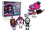 Monster High - 64008 - Loisir Créatif - Kit - Fabrique tes Propres Monstres