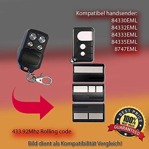 Fernbedienung Ersatz KOMPATIBEL MIT 84330EML, 84333EML, 84334EML, 84335EML, 94335EML HANDSENDER