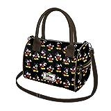 DISNEY Mickey Moving - Damen Handtasche mit Schulterriemen - Zwei