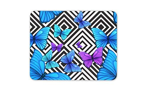Coole lila Schmetterlinge Mauspad Pad - Butterfly Mama Schwester-Geschenk-Computer # 8661 (Butterfly Mama)