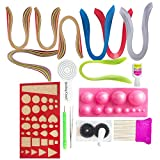 VIPRA 16 Piece Quilling Jewellery Kit wi...