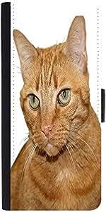 Snoogg Catdesigner Protective Flip Case Cover For Samsung Galaxy Note 2