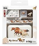 bigben Nintendo 3DS -Zubehörpaket - Zubehör-Set Horse / Pferdeherde