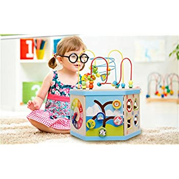 Everearth My First 5 In 1 Activity Cube Toys Games