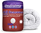 Slumberdown All Seasons 15 Tog Combi Duvet- Double Bed, White