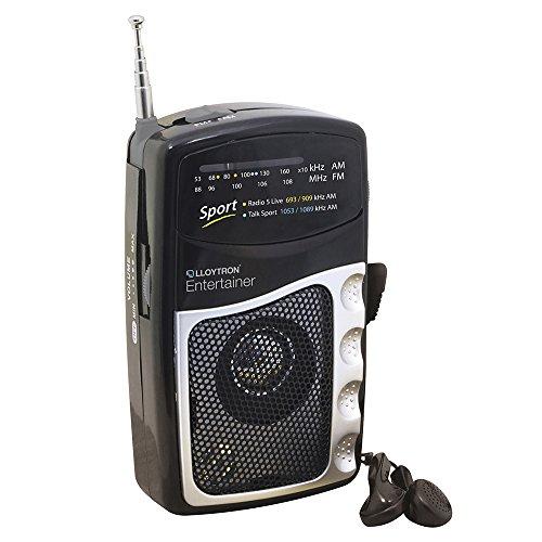 AM/FM Unterhaltung Tragbares Persönliches Radio / Batteriebetrieben / Enthält Ohrhörer / iCHOOSE