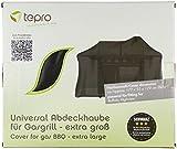 Tepro Universal Grillabdeckhaube für Gasgrill, extra groß, schwarz, 55.9 x 177.8 x 129.5 cm, 8109