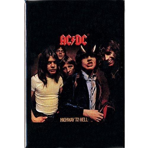AC / DC- Highway To Hell Stahl Kühlschrankmagnet (Decke Band-merch)