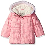 Osh Kosh Baby Girls Infant Classic Heavyweight Parka with Faux Fur Hood