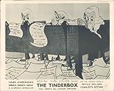 Hans Christian Andersen el Yesquero Cartoon Original Lobby Card raras