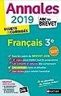 Annales ABC du Brevet 2019 - Français