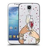 Head Case Designs Toast Wein Fest Ruckseite Hülle für Samsung Galaxy S4 I9500