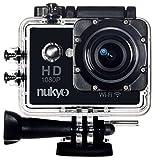 Nukyo Extreme Action Sports Kamera – 1080p WIFI 12 MP Black + Fahrradhelm- & andere Befestigungen