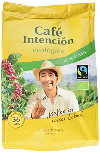 J.J. Darboven Bio Cafe Intencion, 36 Pads, 252 g