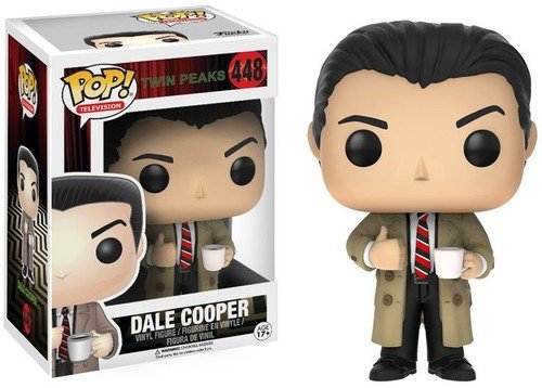 Funko 12694 Actionfigur Twin Peaks: Agent Dale Cooper, Multi - Log-mantel
