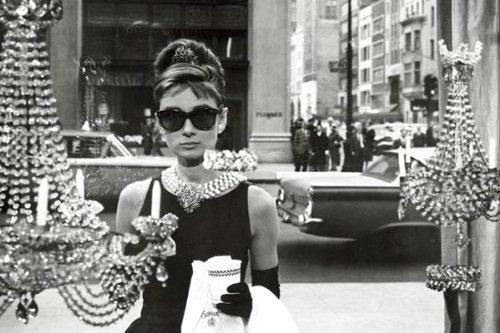 Poster Audrey Hepburn Fenster 36x 24