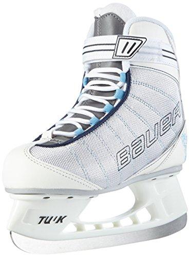 BAUER - Damen Schlittschuhe Flow Rec Ice I hochwertige Schlittschuhe mit Edelstahlkufe I Knöchelpolsterung I bequeme Eishockey-Schlittschuhe I ideal für...
