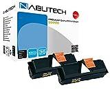 2 Nabutech XXL kompatibel Toner mit 200% mehr Leistung als Ersaz für TK 160 für Kyocera ECOSYS P2035d FS-1120D FS1120D FS 1120D / je 7.500 Seiten bei 5% Abdeckung nach ISO Norm 19752