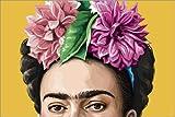 Posterlounge Leinwandbild 60 x 40 cm: Frida von Claudio Limón - fertiges Wandbild, Bild auf Keilrahmen, Fertigbild auf Echter Leinwand, Leinwanddruck