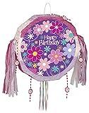 Unique Party Supplies Piñata in Blumenform für Geburtstag, Zugschnur