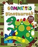 Image de Dinosauroak (Nire liburua gommettes)