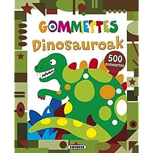 Dinosauroak (Nire liburua gommettes)