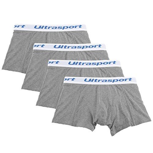 Ultrasport Boxershorts 4-er Set 1313-150-L Herren  Gr. L  Hellgrau