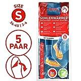 The HEAT company Sohlenwärmer SELBSTKLEBEND 8 Stunden Wärmedauer Wärmesohle Fußwärmer Schuhheizung Fußheizung