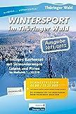 Wintersport im Thüringer Wald: 3-teiliges Kartenset Maßstab 1:50 000 -