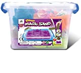 #4: Celebration™ Magic Sand Activity Play set with Inflatable Sandbox & Molds - 100% Safe Gluten-Free Assorted Colors Sand 2Kg