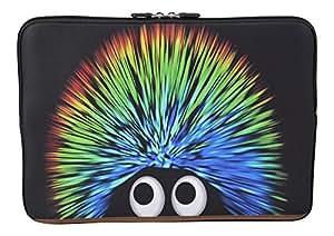 MySleeveDesign Laptoptasche Notebooktasche Sleeve für 10,2 Zoll / 11,6 - 12,1 Zoll / 13,3 Zoll / 14 Zoll / 15,6 Zoll / 17,3 Zoll - Neopren Schutzhülle mit VERSCH. DESIGNS - Creature [10]