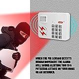 Flipco Wireless PIR Motion Sensor Alarm Password Keypad Anti Burglar Home Security Keypad