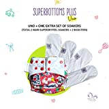 #8: superbottoms Cloth Diaper in White Colour