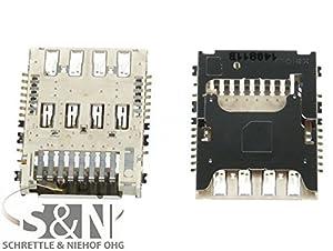 Original LG G3 D855 Simkarten Sim Karte Leser Slot Kontakte Pins - NG-Mobile