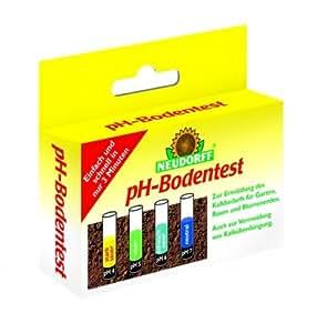 Neudorff 00125 pH-Bodentest, Set mit 8 Tests