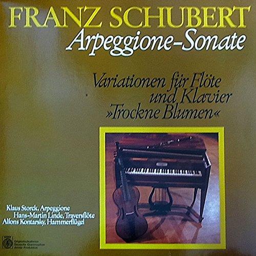 Arpeggione-Sonate / Variationen für Flöte und Klavier / 66 683 4 (Sonaten Und Für Klavier Flöte Vier)